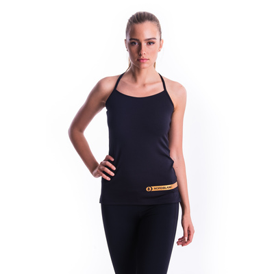Women's fitness top Nordblanc Strappy Black NBSLF7449_CRN, Nordblanc
