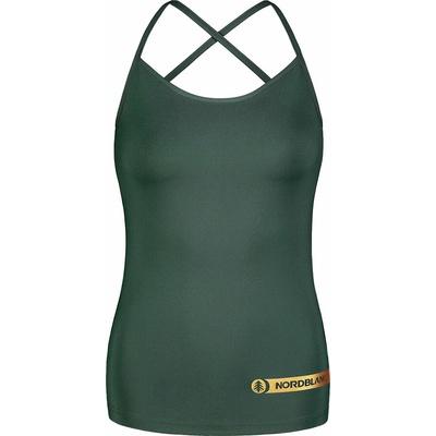 Women's fitness top Nordblanc Strappy green NBSLF7449_TZE, Nordblanc