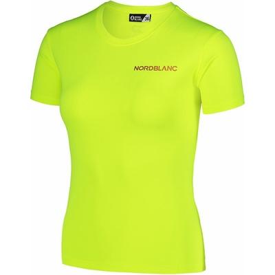 Women's functional t-shirt Nordblanc Training Yellow NBSLF7450_BPZ, Nordblanc