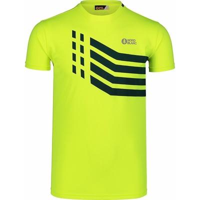 Men's T-Shirt Nordblanc Stronger Yellow NBSMF7457_BPZ, Nordblanc