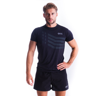 Men's T-Shirt Nordblanc Stronger Black NBSMF7457_CRN, Nordblanc