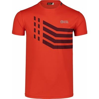 Men's T-Shirt Nordblanc Stronger orange NBSMF7457_OIN, Nordblanc