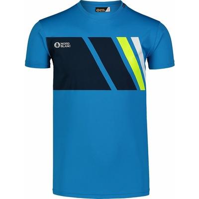 Men's T-Shirt Nordblanc Legacy blue NBSMF7458_AZR, Nordblanc