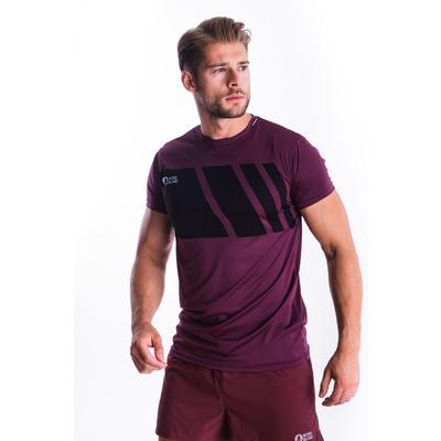 Men's T-Shirt Nordblanc Legacy purple NBSMF7458_FIP, Nordblanc
