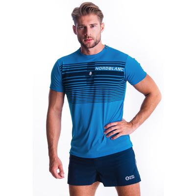 Men's T-Shirt Nordblanc Gradiant blue NBSMF7459_AZR, Nordblanc