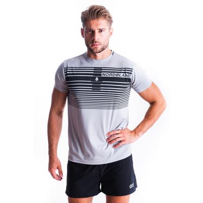 Men's T-Shirt Nordblanc Gradiant grey NBSMF7459_SSM, Nordblanc