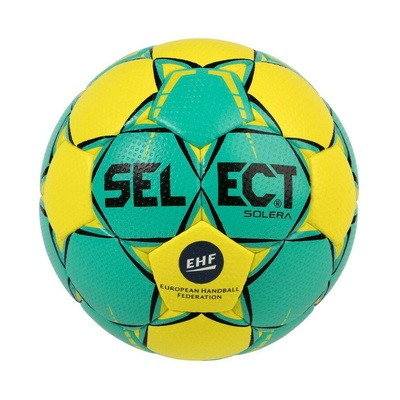 Ball for handball Select HB Ultimate Replica CL white and blue, Select