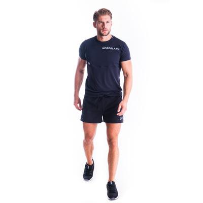 Men's fitness t-shirt Nordblanc Grow black NBSMF7460_CRN, Nordblanc