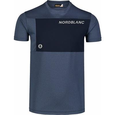Men's fitness t-shirt Nordblanc Grow blue NBSMF7460_SRM, Nordblanc
