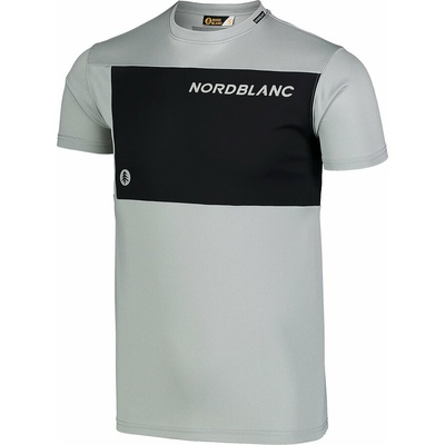 Men's fitness t-shirt Nordblanc Grow grey NBSMF7460_SSM, Nordblanc