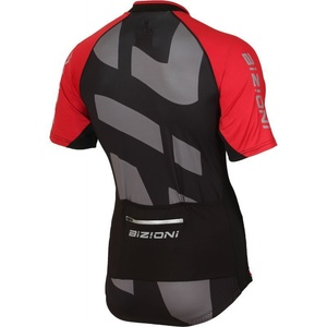 Bike jersey Lasting MD74 black and red, Lasting