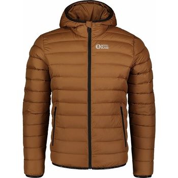 Men quilted jacket Nordblanc Mountaineer brown NBWJM7517_PUH, Nordblanc