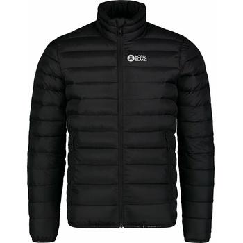 Men quilted jacket Nordblanc Highlander Black NBWJM7526_CRN