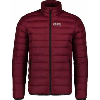 Men quilted jacket Nordblanc Highlander burgundy NBWJM7526_PLU