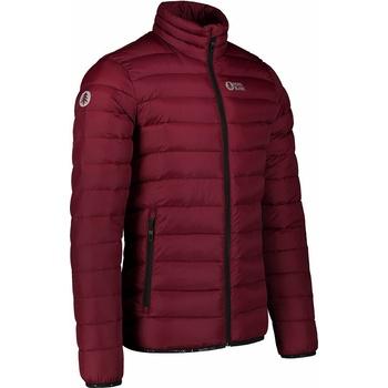 Men quilted jacket Nordblanc Highlander burgundy NBWJM7526_PLU, Nordblanc