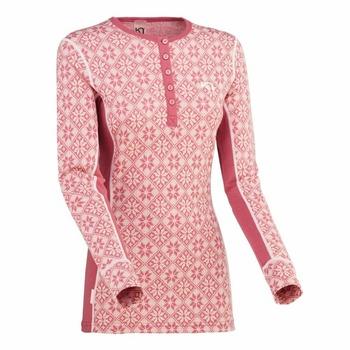 T-shirt Kari Traa Rose LS 622692, pink, Kari Traa