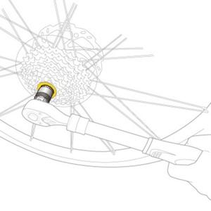 Key Topeak Freewheel Remover TPS-SP39, Topeak