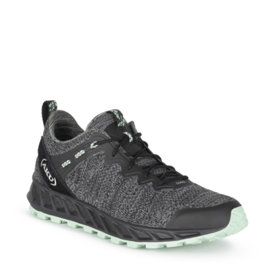 Women's AKU Rapida Air black/jade shoes, AKU