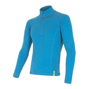 Men shirt Sensor MERINO DOUBLE FACE blue 15100024, Sensor