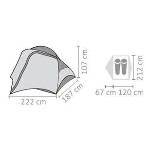 Tent Salewa Micra II 5715-5311, Salewa