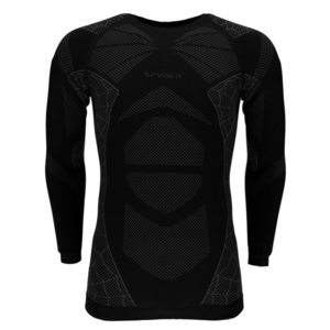 Undershirt Spyder Men `s Captain (Boxed) Seamless L/S 787210-001, Spyder