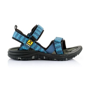 Sandals SOURCE Gobi Men's Triangles Blue, Source