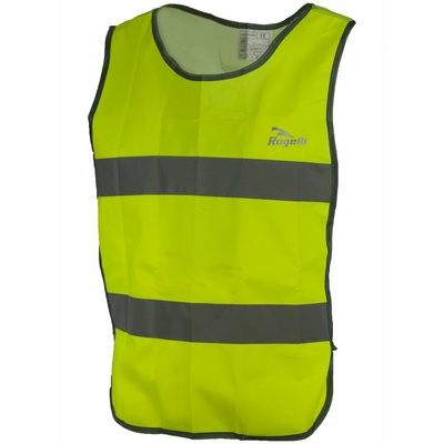 Security vest with breathable back Rogelli MAPLETON, reflection yellow 890.600, Rogelli