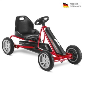 Children pedaling cart PUKY Cart AIR F 1L black, Puky