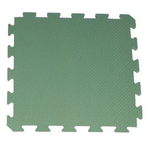 Mat Yate Fitness Homefloor 50x50x1,5cm green, Yate