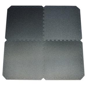 Mat Yate FITNESS PUZZLE MAT 55X55X0,8 CM, SET 4 KS, BLACK, Yate