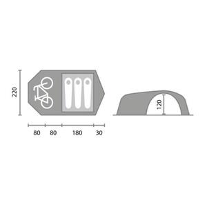 Tent Yate Dakota, Yate