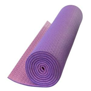 Mat to yoga Yate YOGA MAT DOUBLE-LAYER purple / pink, Yate