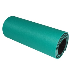 Sleeping pad YATE double-layer 12 light green / black G-64/K-95, Yate