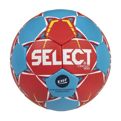 Ball for handball Select HB Circuit red and blue, Select
