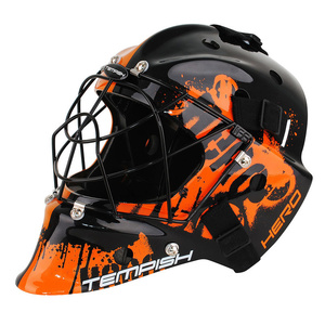 Goalie mask Tempish Hero color senior orange, Tempish