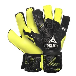 Goalkeepers gloves Select GK gloves 03 Youth Flat cut black yellow, Select