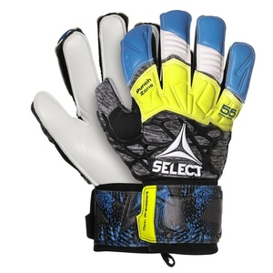 Goalkeepers gloves Select GK gloves 55 Extra Force Flat cut blue grey, Select