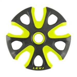 Baskets LEKI Big Mountain Basket 2K 95mm black-neon yellow 853100112, Leki