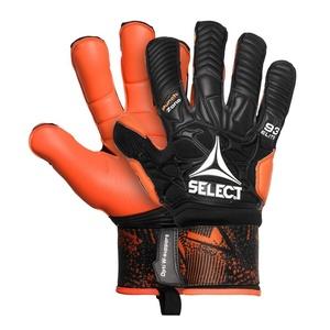 Goalkeepers gloves Select GK gloves 93 Elite Hyla cut black orange, Select
