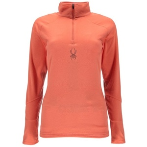 Turtleneck Spyder Women's Shimmer Bug Velour Fleece T-Neck 868087-635, Spyder