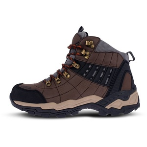 Men leather outdoor boots NORDBLANC Earth NBHC86 HND, Nordblanc