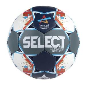 Handball ball Select HB Ultimate Replica Champions League Men gray blue, Select