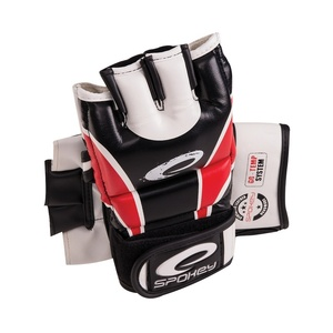 HIYO Leather gloves to MMA red M-XL, Spokey