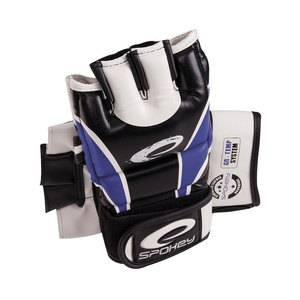 Leather gloves to MMA Spokey JUNYO blue, Spokey