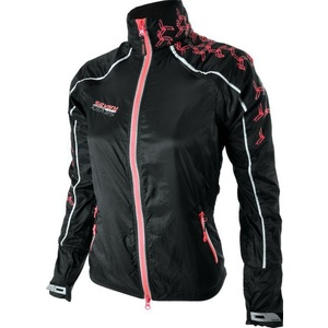 Women running jacket Silvini Piot WJ707 black-punch, Silvini