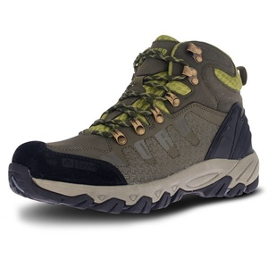Men leather outdoor boots NORDBLANC Rugged NBHC87 KHI, Nordblanc