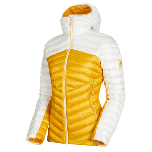Women jacket Mammut Broad Peak IN Hooded Jacket Women golden bright white 1247, Mammut