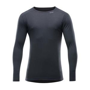 Men wool shirt Devold Hiking Man Shirt black GO 245 220 A 950A