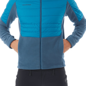 Men jacket Mammut Innominata ML Hybrid Jacket Men wing teal saphire 50266, Mammut