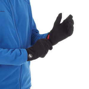Gloves Mammut Fleece Glove (190-05921) black 0001, Mammut